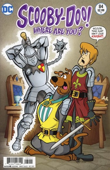 Scooby Doo, Where Are You? Cover - 10/1/2017