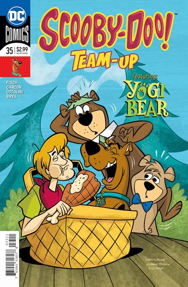 Scooby- Doo Team Up Cover - 4/1/2018