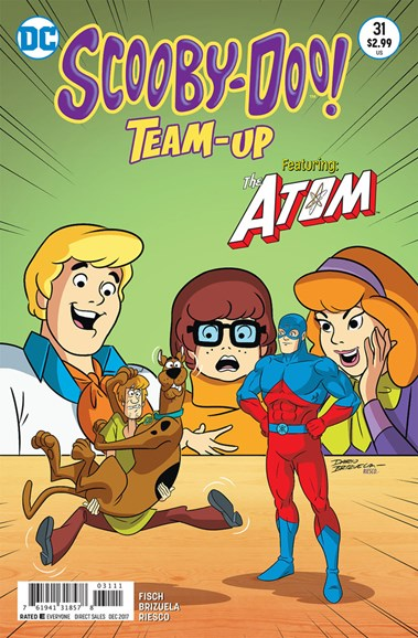 Scooby- Doo Team Up Cover - 12/1/2017
