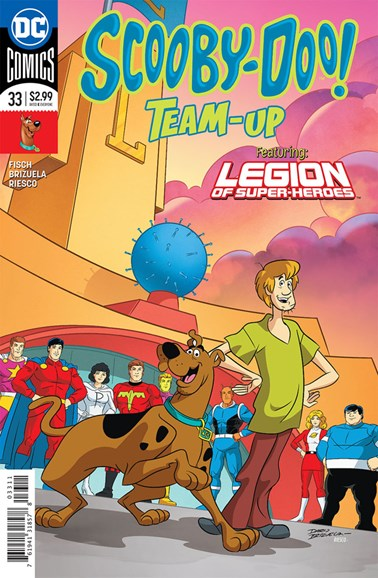 Scooby- Doo Team Up Cover - 2/1/2018