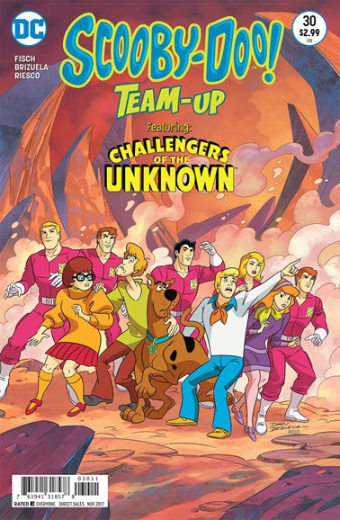Scooby- Doo Team Up Cover - 11/1/2017