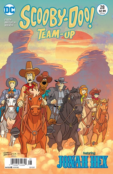Scooby- Doo Team Up Cover - 9/1/2017