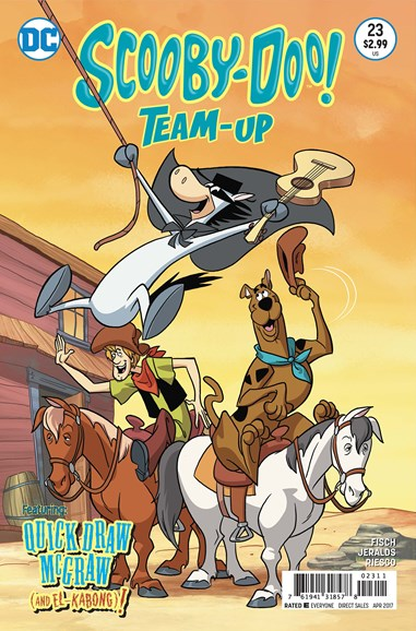Scooby- Doo Team Up Cover - 4/1/2017