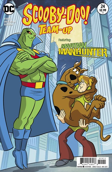 Scooby- Doo Team Up Cover - 5/1/2017