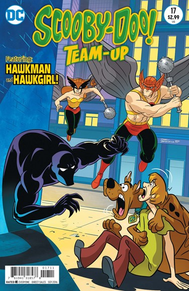 Scooby- Doo Team Up Cover - 9/1/2016