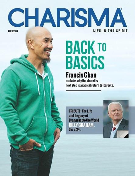 Charisma Cover - 4/1/2018