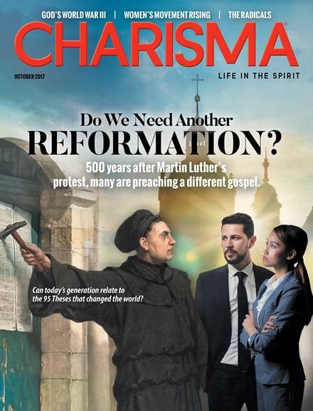 Charisma Cover - 10/1/2017