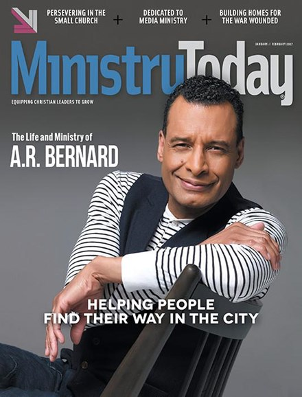 Ministry Today Cover - 1/1/2017