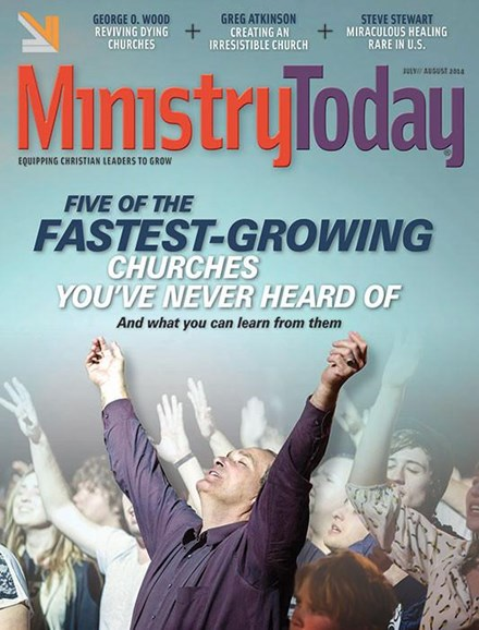Ministry Today Cover - 7/1/2014