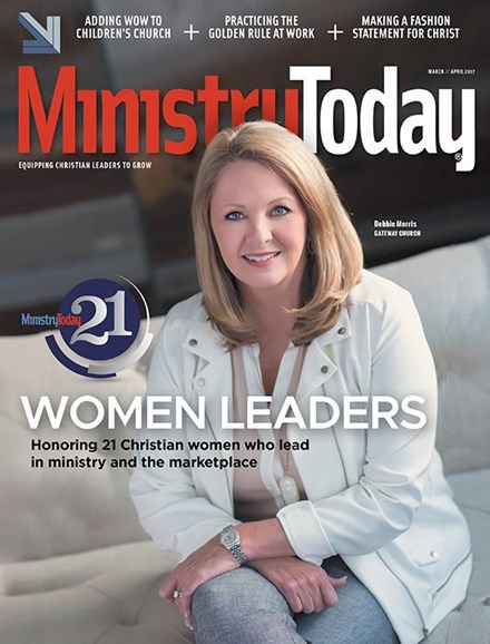 Ministry Today Cover - 3/1/2017