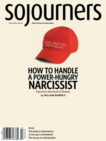 Sojourners Cover - 3/1/2018