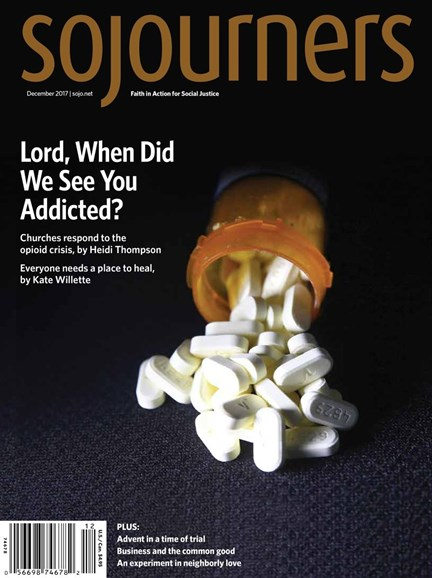 Sojourners Cover - 12/1/2017