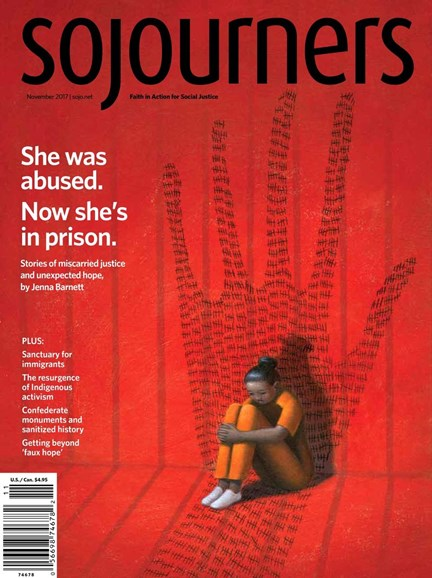 Sojourners Cover - 11/1/2017