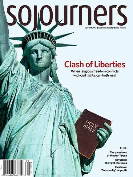 Sojourners Cover - 9/1/2017