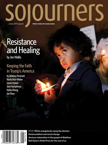 Sojourners Cover - 1/1/2017