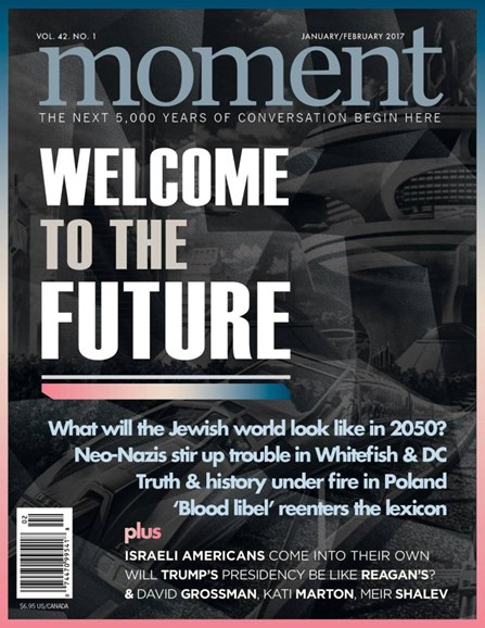 Moment Magazine Cover - 1/1/2017