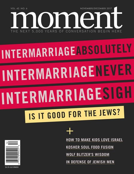 Moment Magazine Cover - 11/1/2017