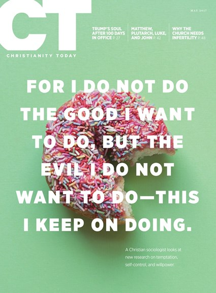 Christianity Today Cover - 5/1/2017
