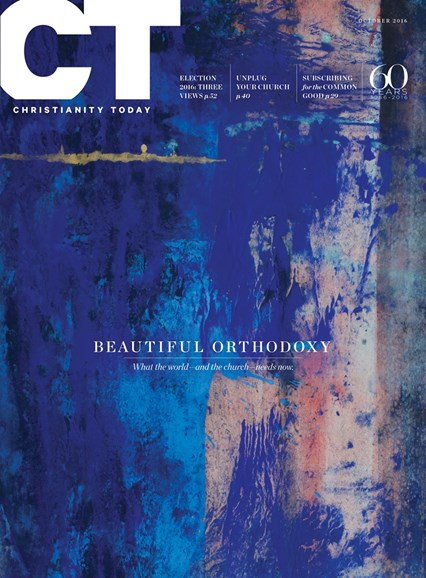 Christianity Today Cover - 10/1/2016