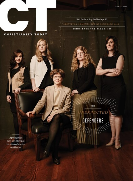 Christianity Today Cover - 4/1/2015