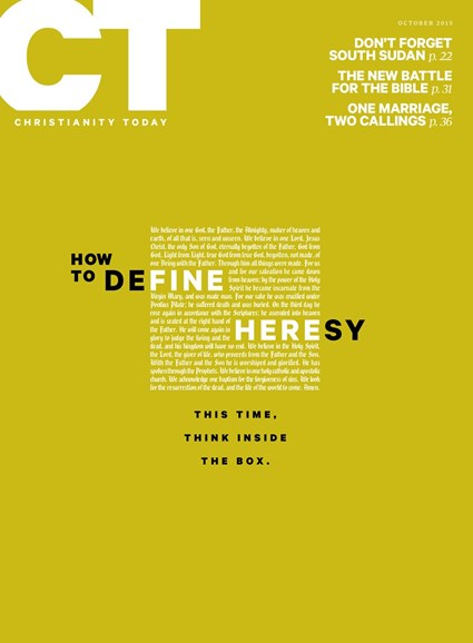 Christianity Today Cover - 10/1/2015