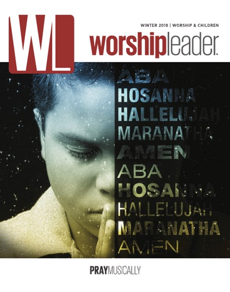 Worship Leader Magazine Cover - 1/1/2018