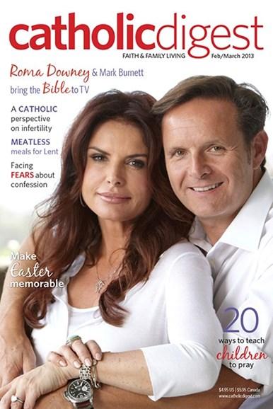 Catholic Digest Cover - 2/1/2013