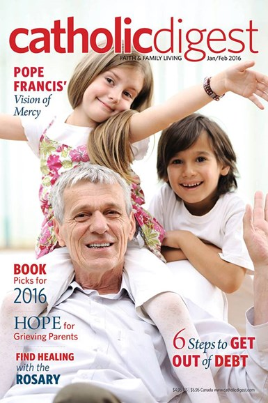 Catholic Digest Cover - 1/1/2016