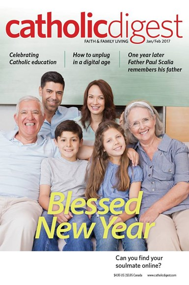 Catholic Digest Cover - 1/1/2017