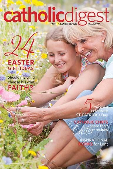 Catholic Digest Cover - 3/1/2015