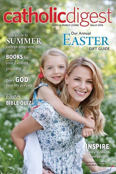 Catholic Digest Cover - 3/1/2016