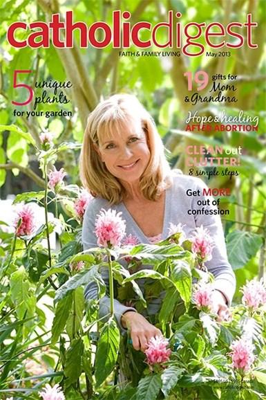 Catholic Digest Cover - 5/1/2013