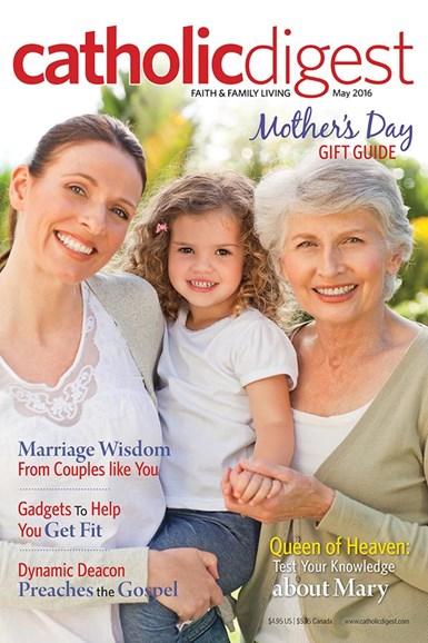 Catholic Digest Cover - 5/1/2016