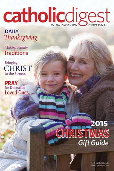 Catholic Digest Cover - 11/1/2015