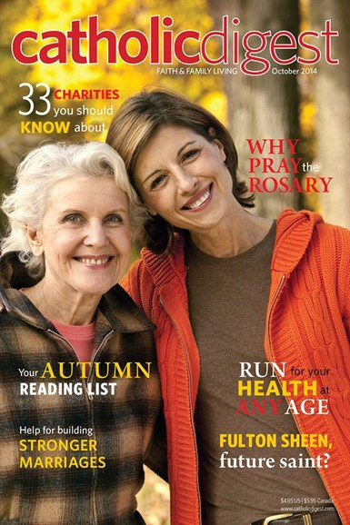 Catholic Digest Cover - 10/1/2014