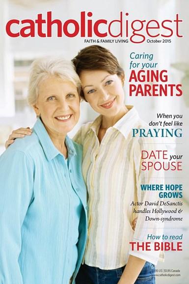Catholic Digest Cover - 10/1/2015