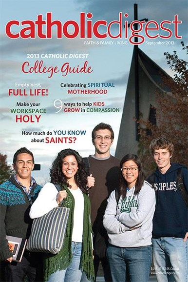 Catholic Digest Cover - 9/1/2013