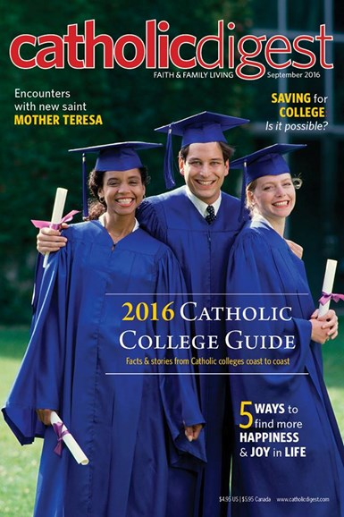 Catholic Digest Cover - 9/1/2016