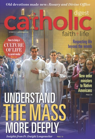 Catholic Digest Cover - 10/1/2017