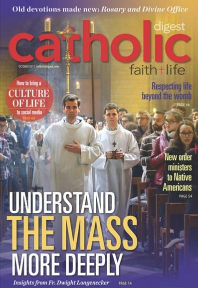 Catholic Digest Cover - 10/1/2017