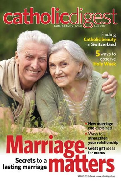 Catholic Digest Cover - 4/1/2017