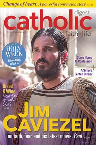 Catholic Digest Cover - 3/1/2018