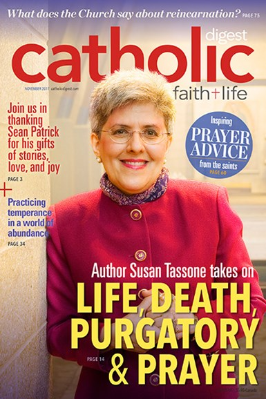 Catholic Digest Cover - 11/1/2017