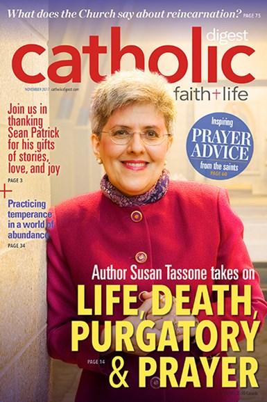 Catholic Digest Cover - 11/1/2017