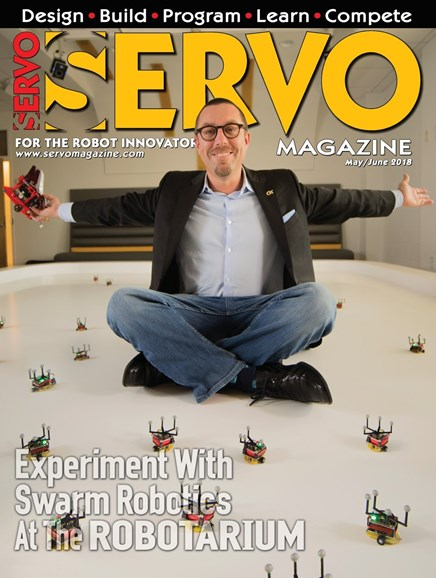 Servo Magazine Cover - 5/1/2018