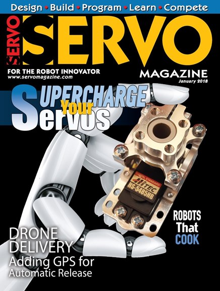 Servo Magazine Cover - 1/1/2018