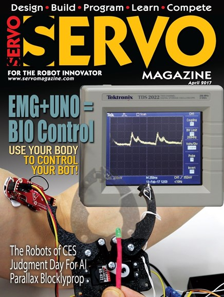 Servo Magazine Cover - 4/1/2017