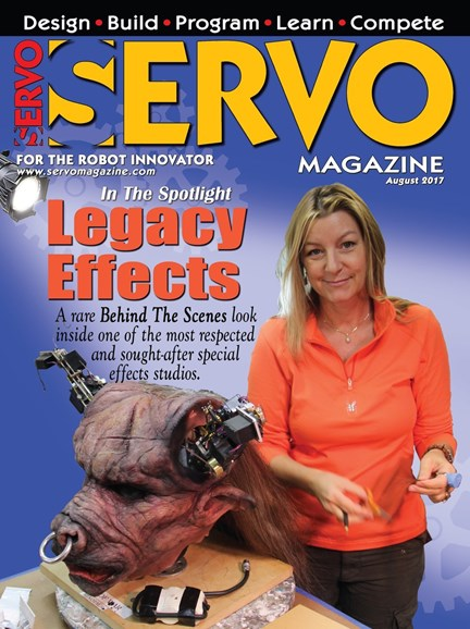 Servo Magazine Cover - 8/1/2017