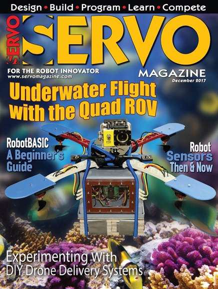 Servo Magazine Cover - 12/1/2017