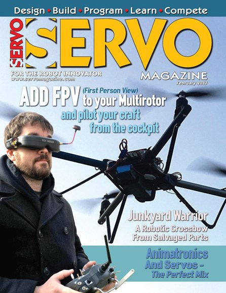 Servo Magazine Cover - 2/1/2017